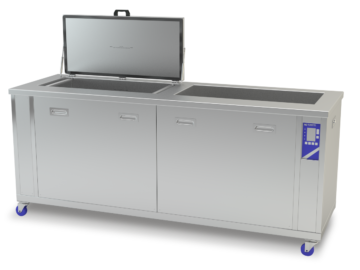Kleentek MetalKleen 150L Industrial Ultrasonic Cleaning Tank