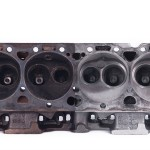 Engine head before & after ultrasonic cleaning