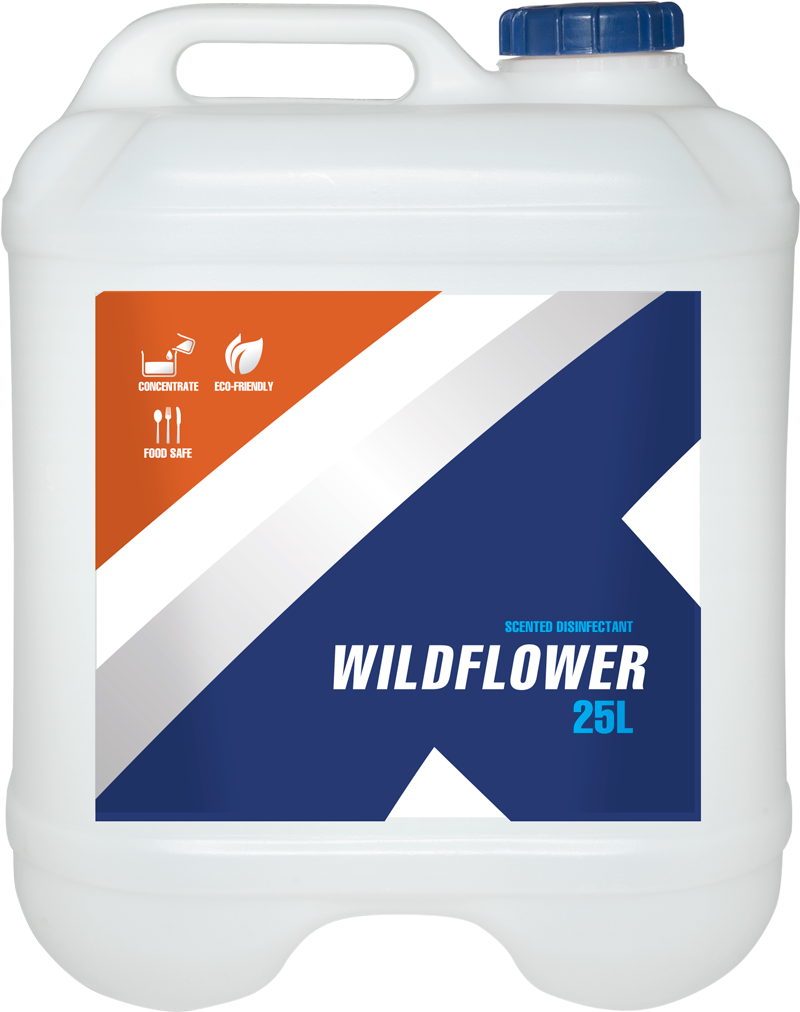 Wildflower Scented Disinfectant 25L from Kleentek